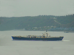 Flat Barge returning from the Port of Tacoma