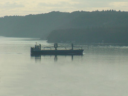 Working Barge returning from Tacoma